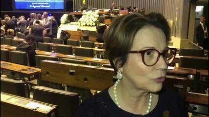 Ministério da Agricultura não está inchado, diz Tereza Cristina