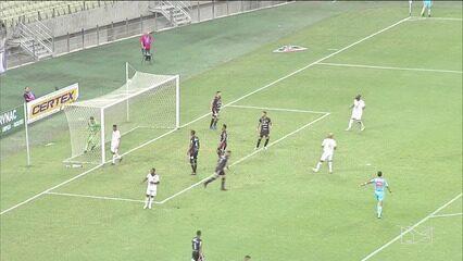 Com gol de Rodrigo Andrade, Sampaio bate o Ferroviário e assume liderança