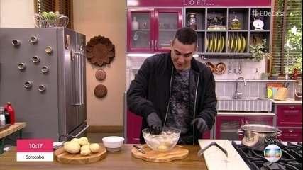 Testando Mitos: descascando batata quente
