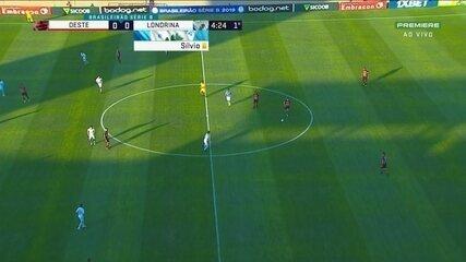 Melhores momentos de Oeste 1 x 0 Londrina, pela Série B do Brasileiro