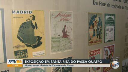 Exposição em Santa Rita do Passa Quatro conta história de Zequinha de Abreu