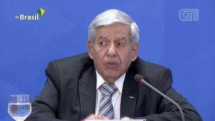 Ministro do GSI diz que governo não iria alardear se julgasse corretos dados do Inpe