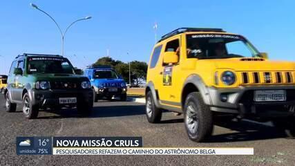 Jipeiros viajam até o ponto que marca a início da missão Cruls