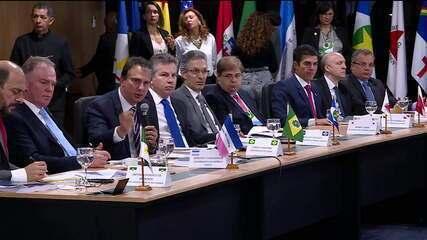 Em 2019, governadores se reuniram em Brasília para pedir a revogação da Lei Kandir