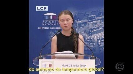 Marina Silva fala do ativismo de Greta Thunberg
