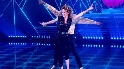 Deborah Evelyn relembra participação no 'Dança dos Famosos'