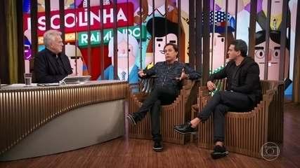 Tom e Veras falam sobre censura ao humor e defendem a importância do cinema