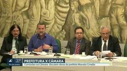 Comissões na Câmara discutem obras do prefeito Marcelo Crivella