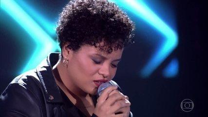 "Samara Alves canta ""I´m Not The Only One"""