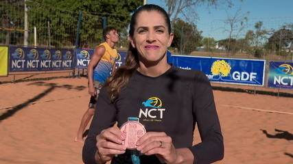 Medalista do Pan treina em Brasília