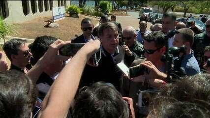 Bolsonaro diz que Brasil não precisa de dinheiro da Alemanha