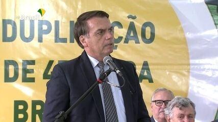 """Bolsonaro diz que não quer """"irmãos argentinos"""" fugindo para o Brasil caso Kirchner vença"""