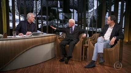 Mangabeira e Giannetti debatem sobre a situação da educação no país
