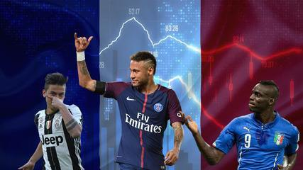 Janela GE: Neymar incendeia e movimenta a liga que mais lucra da Europa