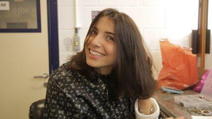 Rayssa Bratillieri muda o visual para nova personagem em 'Éramos seis'