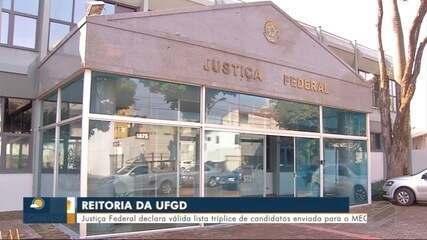 Justiça Federal declara válida lista tríplice de candidatos da UFGD enviada para o MEC