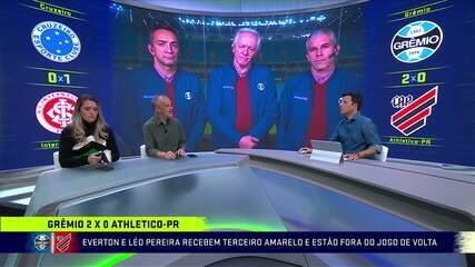Comentaristas analisam vitória do Grêmio diante do Athletico-PR na Copa do Brasil