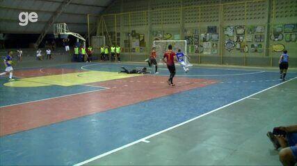 Gol de Isaac - Cajuína 3 x 3 Tiradentes-PI