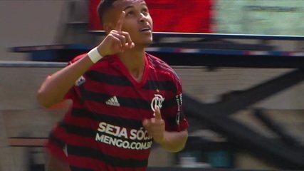 Os gols de Flamengo 2 x 1 Corinthians pela final do Campeonato Brasileiro Sub-17