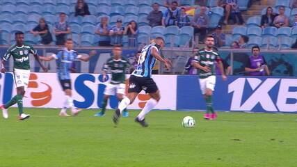 Os gols de Grêmio 1 x 1 Palmeiras pela 15ª rodada do Brasileirão 2019