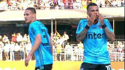 Veja o gol da vitória do São Paulo