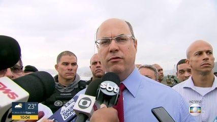 'A primeira preocupação nossa é salvar os reféns', diz Wilson Witzel