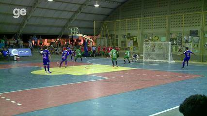 Taça Clube de Futsal - Gol de Danilinho, da AABB