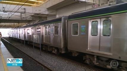 Metrô do Recife quebrou em média 10 vezes por mês entre janeiro e julho de 2019
