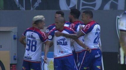 O gol de Atlético-MG 0 x 1 Bahia pela 16ª rodada do Campeonato Brasileiro