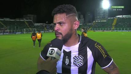 Lateral do Figueirense, Roberto confirma retorno para a Chapecoense