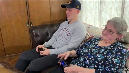 Start mostra história de senhora de com 84 anos que ama video-games