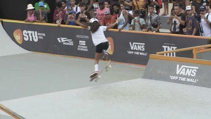 Fadinha do skate, Rayssa Leal vence a etapa de Lauro de Freitas do STU