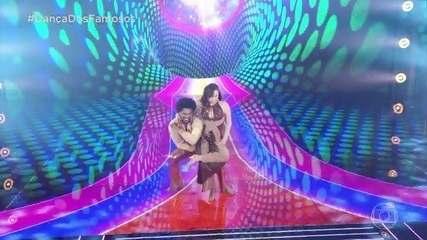 Confira a apresentação de Luiza Tomé na 'Dança dos Famosos'
