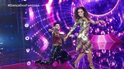 Dandara Mariana se apresenta na 'Dança dos Famosos'