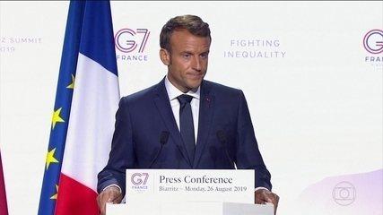 Emmanuel Macron faz duras críticas ao presidente Jair Bolsonaro