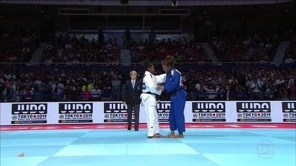Rafaela Silva conquista o bronze no Mundial de Judô, em Tóquio