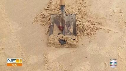 Óleo de piche encontrado em praias de Pernambuco foi descartado em alto-mar, diz CPRH