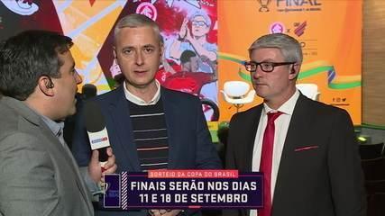 Odair Hellmann e Tiago Nunes falam sobre as finais da Copa do Brasil