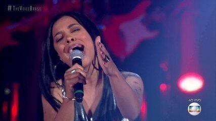 "Larissa Mendes canta ""Seu Crime"""