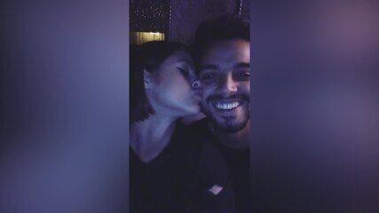 Agatha Moreira é só amor com Rodrigo Simas