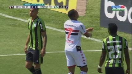 Melhores momentos de Botafogo 0 x 0 América-MG, pela 21ª rodada da Série B