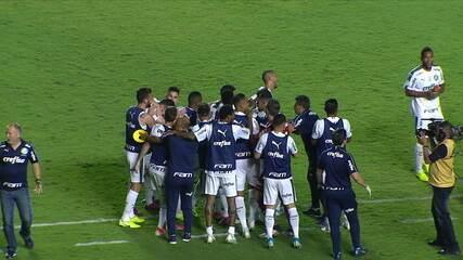 Veja os gols do jogo entre Goiás e Palmeiras