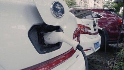 Expresso Futuro: cidade aposta em veículos elétricos e formas alternativas de energia