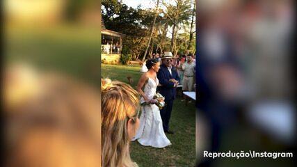 Amigas mostram os bastidores do casamento de Gabe Cardoso