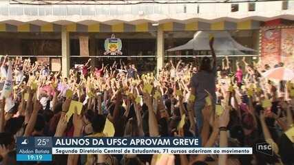 Alunos da UFSC decidem entrar em greve contra bloqueio de verbas do MEC