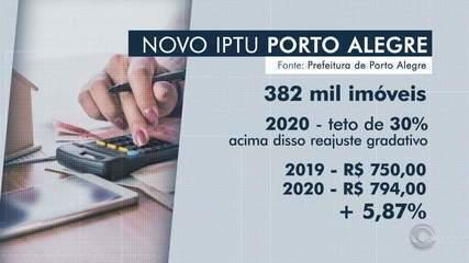 Prefeito de Porto Alegre sanciona lei que atualiza IPTU a partir de 2020