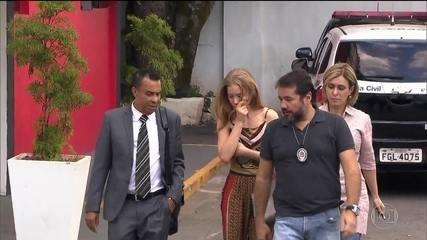 Polícia indicia Najila Trindade por denúncia caluniosa contra Neymar