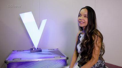 A participante Pollyana Caires conta como o The Voice Brasil mudou sua rotina