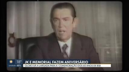 Reportagem especial homenageia JK e o Memorial no dia do aniversário do fundador