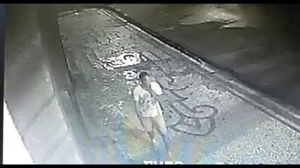 Suspeito de matar e jogar corpo de jovem em rio tem imagem divulgada pela polícia